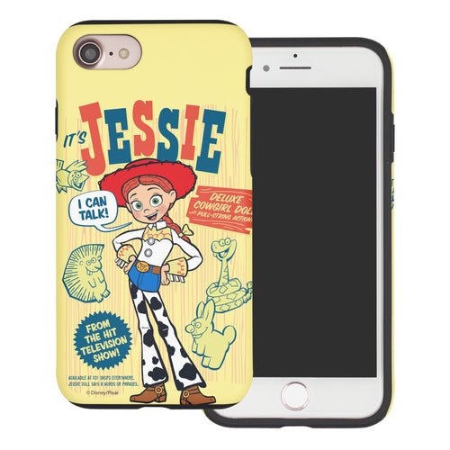 iPhone 8 Plus / iPhone 7 Plus Case Toy Story Layered Hybrid [TPU + PC] Bumper Cover - Full Jessie