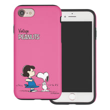 Load image into Gallery viewer, iPhone 6S Plus / iPhone 6 Plus Case PEANUTS Layered Hybrid [TPU + PC] Bumper Cover - Small Snoopy Lucy
