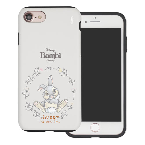 iPhone SE 2020 / iPhone 8 / iPhone 7 Case (4.7inch) Disney Bambi Layered Hybrid [TPU + PC] Bumper Cover - Full Thumper