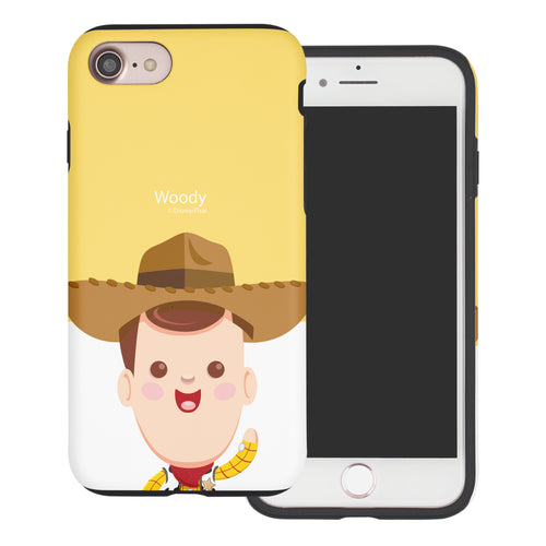 iPhone 8 Plus / iPhone 7 Plus Case Toy Story Layered Hybrid [TPU + PC] Bumper Cover - Baby Woody