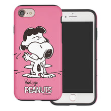 Load image into Gallery viewer, iPhone 6S / iPhone 6 Case (4.7inch) PEANUTS Layered Hybrid [TPU + PC] Bumper Cover - Cute Snoopy Lucy