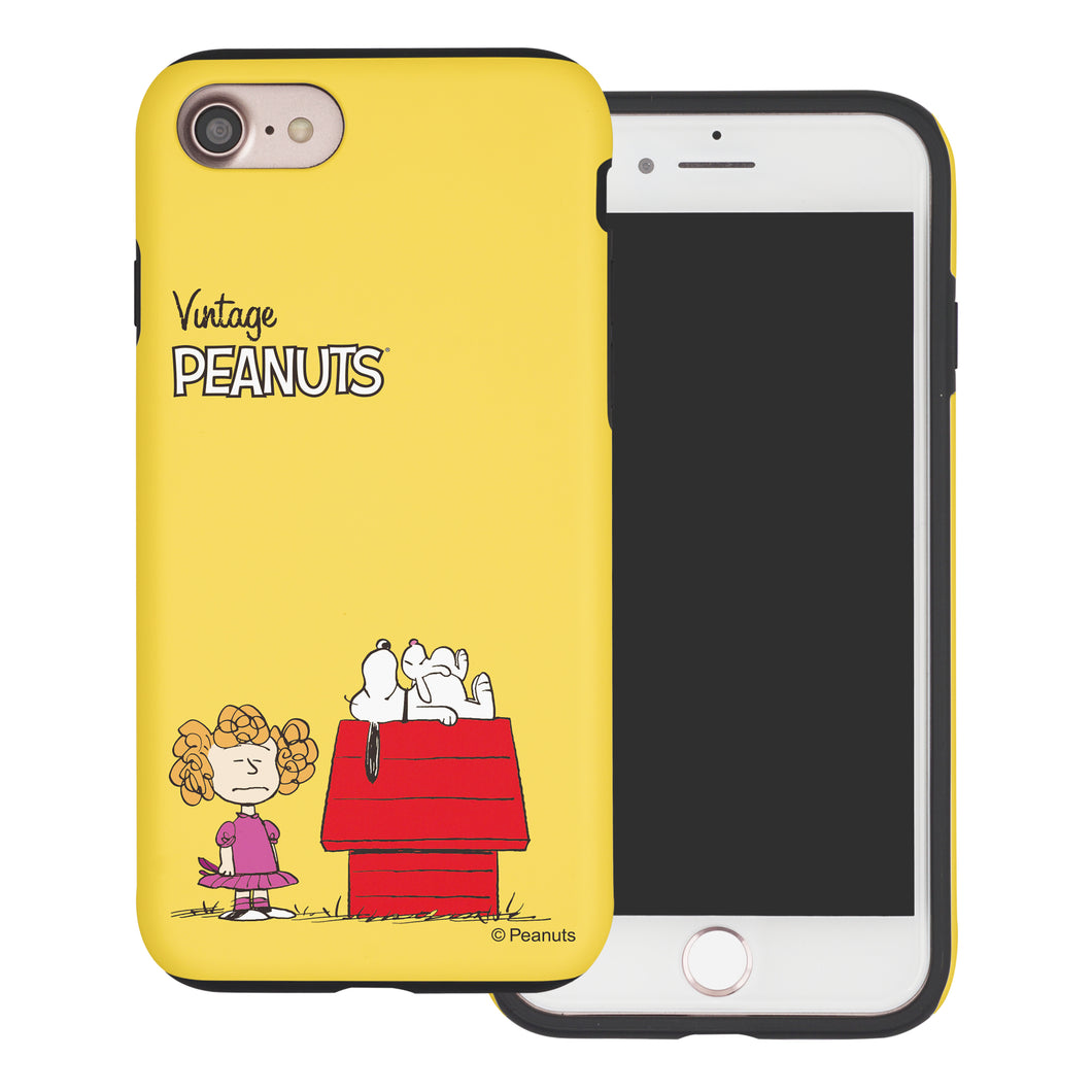 iPhone 6S / iPhone 6 Case (4.7inch) PEANUTS Layered Hybrid [TPU + PC] Bumper Cover - Small Snoopy House