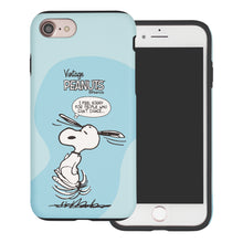 Load image into Gallery viewer, iPhone SE 2020 / iPhone 8 / iPhone 7 Case (4.7inch) PEANUTS Layered Hybrid [TPU + PC] Bumper Cover - Cartoon Snoopy Dance