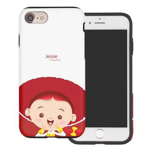 iPhone 8 Plus / iPhone 7 Plus Case Toy Story Layered Hybrid [TPU + PC] Bumper Cover - Baby Jessie