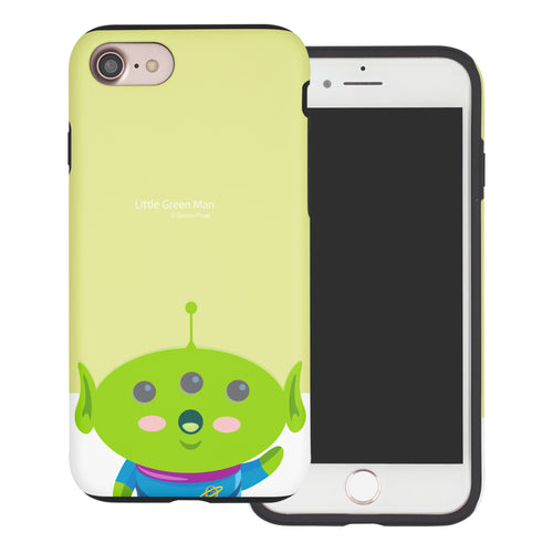 iPhone 8 Plus / iPhone 7 Plus Case Toy Story Layered Hybrid [TPU + PC] Bumper Cover - Baby Alien
