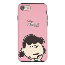 Load image into Gallery viewer, iPhone 6S Plus / iPhone 6 Plus Case PEANUTS Layered Hybrid [TPU + PC] Bumper Cover - Face Lucy