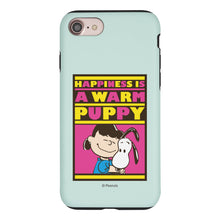 Load image into Gallery viewer, iPhone SE 2020 / iPhone 8 / iPhone 7 Case (4.7inch) PEANUTS Layered Hybrid [TPU + PC] Bumper Cover - Hug Lucy