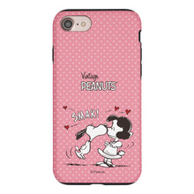 Load image into Gallery viewer, iPhone SE 2020 / iPhone 8 / iPhone 7 Case (4.7inch) PEANUTS Layered Hybrid [TPU + PC] Bumper Cover - Smack Snoopy Lucy