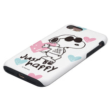Load image into Gallery viewer, iPhone SE 2020 / iPhone 8 / iPhone 7 Case (4.7inch) PEANUTS Layered Hybrid [TPU + PC] Bumper Cover - Snoopy Love Pink