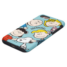 Load image into Gallery viewer, iPhone 5S / iPhone 5 / iPhone SE (2016) Case PEANUTS Layered Hybrid [TPU + PC] Bumper Cover - Peanuts Friends Face