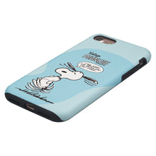 Load image into Gallery viewer, iPhone 6S Plus / iPhone 6 Plus Case PEANUTS Layered Hybrid [TPU + PC] Bumper Cover - Cartoon Snoopy Dance
