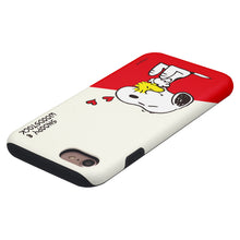 Load image into Gallery viewer, iPhone 6S / iPhone 6 Case (4.7inch) PEANUTS Layered Hybrid [TPU + PC] Bumper Cover - Diagonal Snoopy