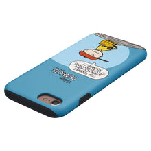 Load image into Gallery viewer, iPhone 5S / iPhone 5 / iPhone SE (2016) Case PEANUTS Layered Hybrid [TPU + PC] Bumper Cover - Cartoon Charlie Brown