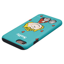 Load image into Gallery viewer, iPhone 5S / iPhone 5 / iPhone SE (2016) Case PEANUTS Layered Hybrid [TPU + PC] Bumper Cover - Sally Heart Sit