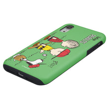 Load image into Gallery viewer, iPhone XS Max Case PEANUTS Layered Hybrid [TPU + PC] Bumper Cover - Cute Peanuts Baseball