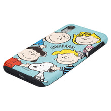 Load image into Gallery viewer, iPhone XS Max Case PEANUTS Layered Hybrid [TPU + PC] Bumper Cover - Peanuts Friends Face