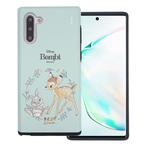Galaxy Note10 Plus Case (6.8inch) Disney Bambi Layered Hybrid [TPU + PC] Bumper Cover - Full Bambi Thumper