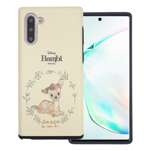 Galaxy Note10 Plus Case (6.8inch) Disney Bambi Layered Hybrid [TPU + PC] Bumper Cover - Full Bambi