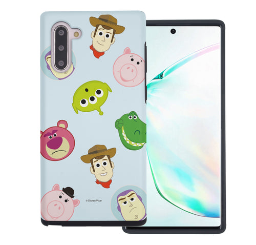 Galaxy Note10 Case (6.3inch) Toy Story Layered Hybrid [TPU + PC] Bumper Cover - Pattern Face