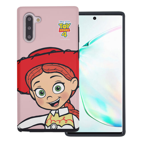 Galaxy Note10 Case (6.3inch) Toy Story Layered Hybrid [TPU + PC] Bumper Cover - Wide Jessie