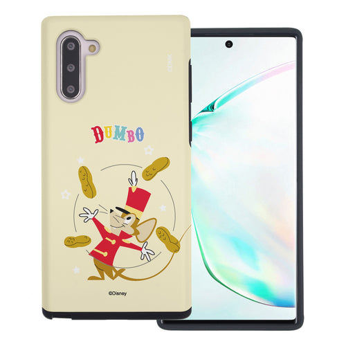 Galaxy Note10 Plus Case (6.8inch) Disney Dumbo Layered Hybrid [TPU + PC] Bumper Cover - Dumbo Timothy