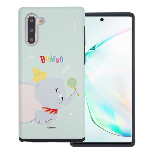 Galaxy Note10 Plus Case (6.8inch) Disney Dumbo Layered Hybrid [TPU + PC] Bumper Cover - Dumbo Candy