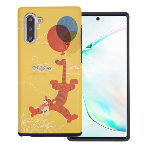 Galaxy Note10 Plus Case (6.8inch) Disney Pooh Layered Hybrid [TPU + PC] Bumper Cover - Balloon Tigger