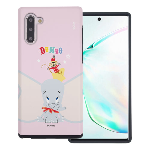 Galaxy Note10 Plus Case (6.8inch) Disney Dumbo Layered Hybrid [TPU + PC] Bumper Cover - Dumbo Overhead