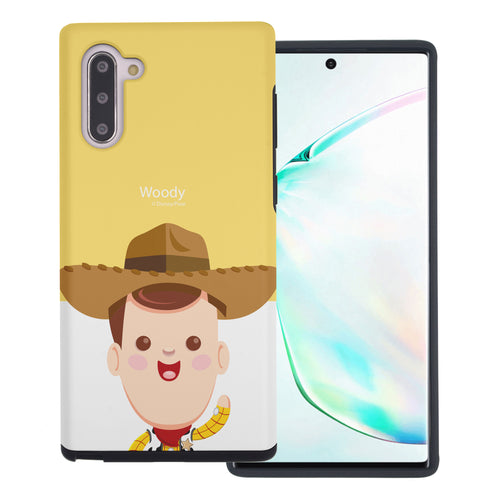 Galaxy Note10 Case (6.3inch) Toy Story Layered Hybrid [TPU + PC] Bumper Cover - Baby Woody