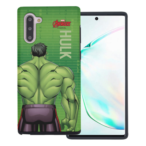 Galaxy Note10 Plus Case (6.8inch) Marvel Avengers Layered Hybrid [TPU + PC] Bumper Cover - Back Huk