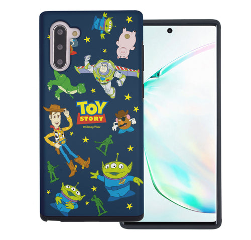 Galaxy Note10 Case (6.3inch) Toy Story Layered Hybrid [TPU + PC] Bumper Cover - Pattern Toy Story