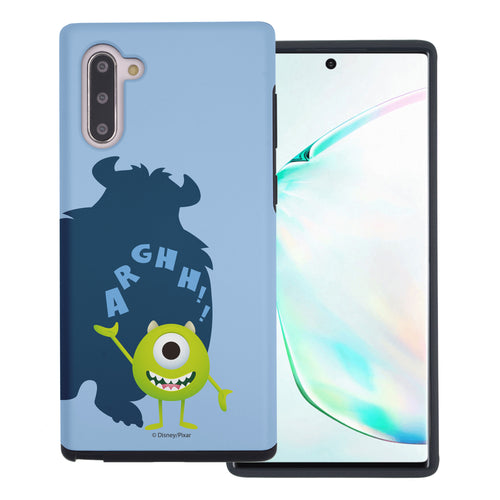 Galaxy Note10 Case (6.3inch) Monsters University inc Layered Hybrid [TPU + PC] Bumper Cover - Simple Mike