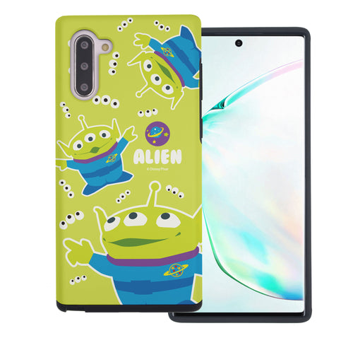 Galaxy Note10 Case (6.3inch) Toy Story Layered Hybrid [TPU + PC] Bumper Cover - Pattern Alien Eyes