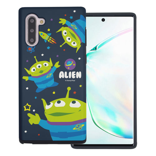 Galaxy Note10 Case (6.3inch) Toy Story Layered Hybrid [TPU + PC] Bumper Cover - Pattern Alien Space