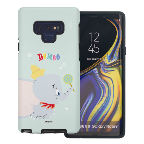 Galaxy Note9 Case Disney Dumbo Layered Hybrid [TPU + PC] Bumper Cover - Dumbo Candy