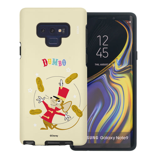 Galaxy Note9 Case Disney Dumbo Layered Hybrid [TPU + PC] Bumper Cover - Dumbo Timothy