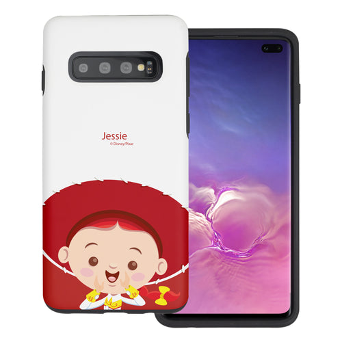 Galaxy S10 Plus Case (6.4inch) Toy Story Layered Hybrid [TPU + PC] Bumper Cover - Baby Jessie