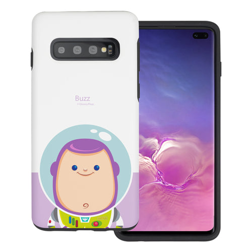 Galaxy S10 Plus Case (6.4inch) Toy Story Layered Hybrid [TPU + PC] Bumper Cover - Baby Buzz