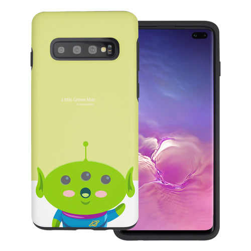Galaxy S10 Plus Case (6.4inch) Toy Story Layered Hybrid [TPU + PC] Bumper Cover - Baby Alien