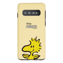 Load image into Gallery viewer, Galaxy S10 5G Case (6.7inch) PEANUTS Layered Hybrid [TPU + PC] Bumper Cover - Face Woodstock