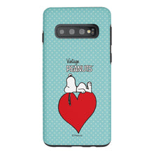 Load image into Gallery viewer, Galaxy S10e Case (5.8inch) PEANUTS Layered Hybrid [TPU + PC] Bumper Cover - Smack Snoopy Heart