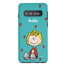 Load image into Gallery viewer, Galaxy S10 Case (6.1inch) PEANUTS Layered Hybrid [TPU + PC] Bumper Cover - Sally Heart Sit
