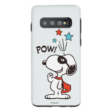 Load image into Gallery viewer, Galaxy S10 Case (6.1inch) PEANUTS Layered Hybrid [TPU + PC] Bumper Cover - Snoopy Pow Mint
