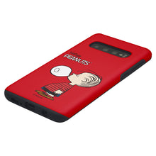 Load image into Gallery viewer, Galaxy S10 5G Case (6.7inch) PEANUTS Layered Hybrid [TPU + PC] Bumper Cover - Simple Linus
