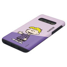 Load image into Gallery viewer, Galaxy S10 5G Case (6.7inch) PEANUTS Layered Hybrid [TPU + PC] Bumper Cover - Diagonal Schroeder