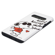 Load image into Gallery viewer, Galaxy S10 5G Case (6.7inch) PEANUTS Layered Hybrid [TPU + PC] Bumper Cover - Snoopy Love Red