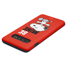 Load image into Gallery viewer, Galaxy S10 Case (6.1inch) PEANUTS Layered Hybrid [TPU + PC] Bumper Cover - Snoopy Be Mine Red