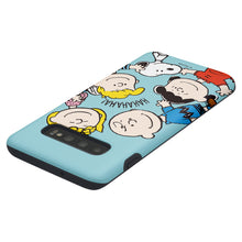 Load image into Gallery viewer, Galaxy S10 5G Case (6.7inch) PEANUTS Layered Hybrid [TPU + PC] Bumper Cover - Peanuts Friends Face