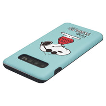 Load image into Gallery viewer, Galaxy S10 Case (6.1inch) PEANUTS Layered Hybrid [TPU + PC] Bumper Cover - Cute Snoopy Joe Cool