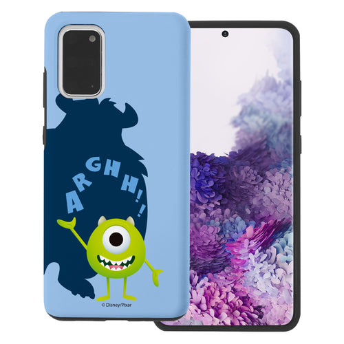 Galaxy Note20 Case (6.7inch) Monsters University inc Layered Hybrid [TPU + PC] Bumper Cover - Simple Mike